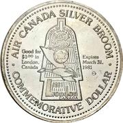 1 Dollar - London, Ontario – obverse