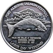 1 Dollar - Port Alberni Salmon Festival (British Columbia) – obverse