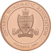 Medal - Ontario Numismatic Association (Canada 150) – obverse