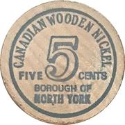 5 Cents - North York, Ontario – obverse
