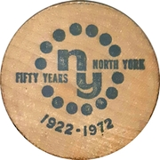 5 Cents - North York, Ontario – reverse