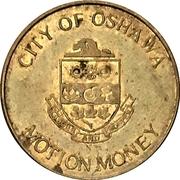 Parking Token - Oshawa Municipal Parking System (Oshawa, Ontario) – obverse
