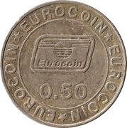 50 Pence - Eurocoin – reverse