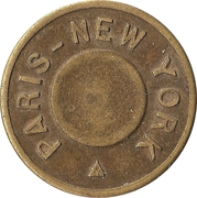 Token - Paris - New York – obverse