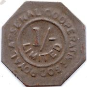 1 Shilling - Royal Arsenal Cooperative Soc Limited – obverse