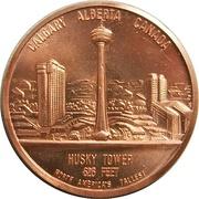 Medal - Husky Tower (Calgary, Alberta) – obverse