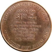 1 Dollar - Swift Current, Saskatchewan – reverse
