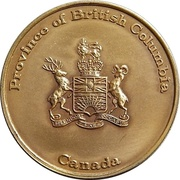 Medal - Province of British Columbia – obverse