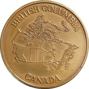 Medal - Province of British Columbia – reverse