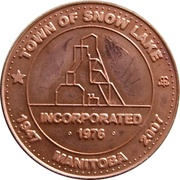 5 Dollars - Snow Lake, Manitoba – obverse