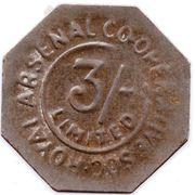 3 Shillings - Royal Arsenal Cooperative Soc Limited – obverse
