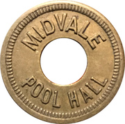 5 Cents - Midvale Pool Hall (Midvale, Idaho) – obverse