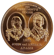 Medal - First Inhabitants of The President's House – obverse