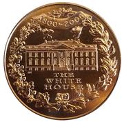 Medal - First Inhabitants of The President's House – reverse