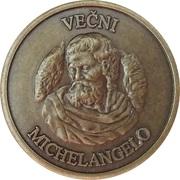 Token - Eternal Michelangelo (Mladinska Knjiga, Ljubljana) – obverse