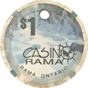 1 Dollar - Casino Rama (Rama, Ontario) – obverse