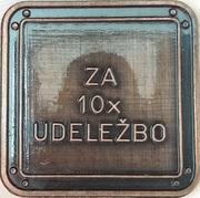 Token - March along the wire (Ljubljana) – reverse