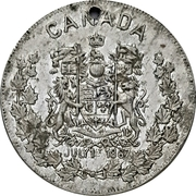 Medal - Canada (Psalms 72:8) – obverse