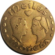 Love Coin - Kaunas – reverse