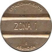 Parking Token - Asuncion (Zona 1) – obverse