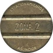 Parking Token - Asuncion (Zona 2) – obverse