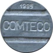 Telephone Token - COMTECO (date on obverse) – obverse