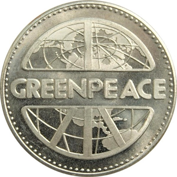 Canada Greenpeace Bald Eagle 1979 BC Currency Trade Dollar
