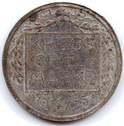 Kriegsspielmarke (Von Müller) – reverse