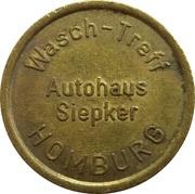 Car Wash Token - Autohaus Siepker (Homburg) – obverse
