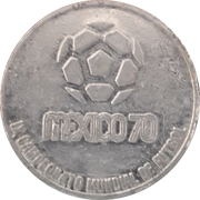 Token - 1970 FIFA World Cup (Sweden) – reverse