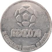 Token - 1970 FIFA World Cup (Czechoslovakia) – reverse