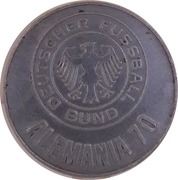 Token - 1970 FIFA World Cup (Germany) – obverse