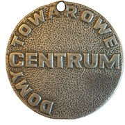 Token – Centrum Department store – obverse