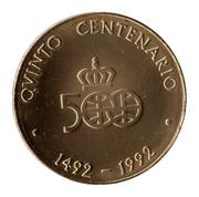Medal - Colombus Quinto Centenario (Isabel La Católica) – reverse