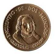 Medal - Colombus Quinto Centenario (Cristobal Colon) – obverse