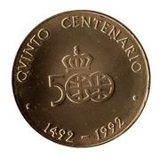 Medal - Colombus Quinto Centenario (Cristobal Colon) – reverse