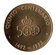 Medal - Colombus Quinto Centenario (Las Tres Carabelas) – reverse