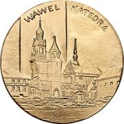 Token - Pope John Paul II (Wawel Cathedral) – reverse