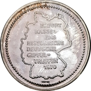 Medal - Willy Brandt / Willi Stoph – reverse