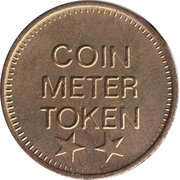 Coin Meter Token (22 mm) – obverse