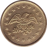 Coin Meter Token (22 mm) – reverse