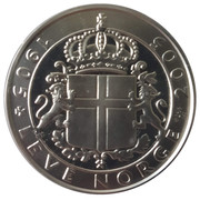 Token - The election of the king of Norway – obverse