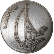 Medal - Sport in Israel (Yachting) – obverse