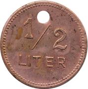 ½ Liter Bier - Löwenbraukeller – reverse