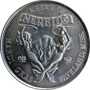 Mardi Gras Token - Krewe of Nereids (Spirit of America; Waveland, Mississippi) – reverse