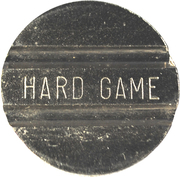 Game Token - Hard Game – obverse