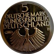5 Deutsche Mark (Germanic Museum; Replica) – obverse