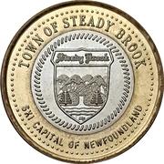 3 Dollars - Steady Brook, Newfoundland & Labrador – obverse