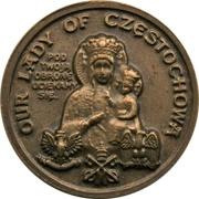 Token - Ioannes Paulus II (Maria Częstochowa) – reverse