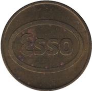 Car Wash Token - Esso Lave Sèche (Québec) – obverse